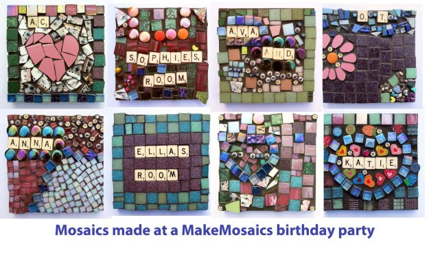 Birthday Party Mosaics