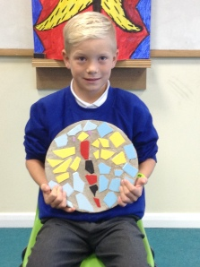 Yarlside Nursery and Primary School Mosaic Stepping Stones Project